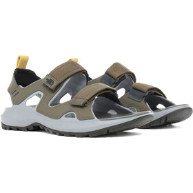 The North Face Hedgehog III Sandalias Hombre, nwtpegrn/tnfblk